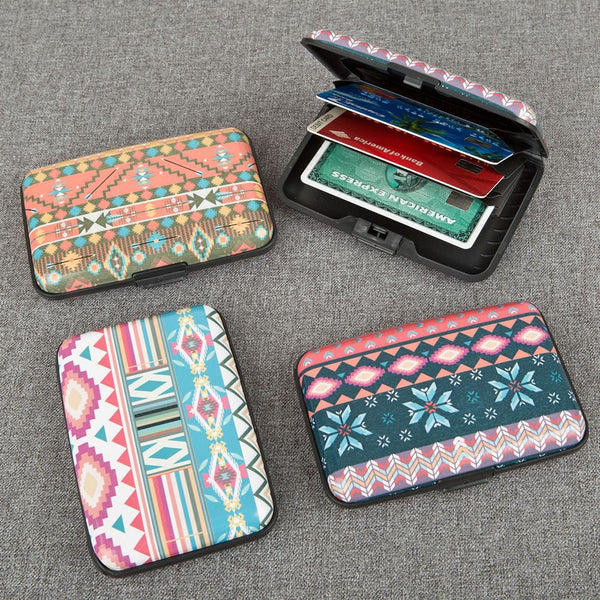 Fun Aztec aluminium wallets from gifts by Fashioncraft-Personalized Gifts for Men-JadeMoghul Inc.