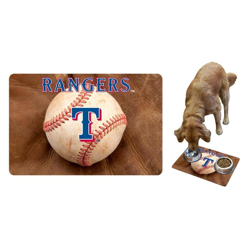Gamewear Large Pet Mat MLB Texas Rangers-LICENSED NOVELTIES-JadeMoghul Inc.