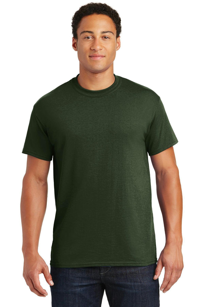 Gildan - DryBlend 50 Cotton/50 Poly T-Shirt. 8000-T-shirts-Forest-2XL-JadeMoghul Inc.