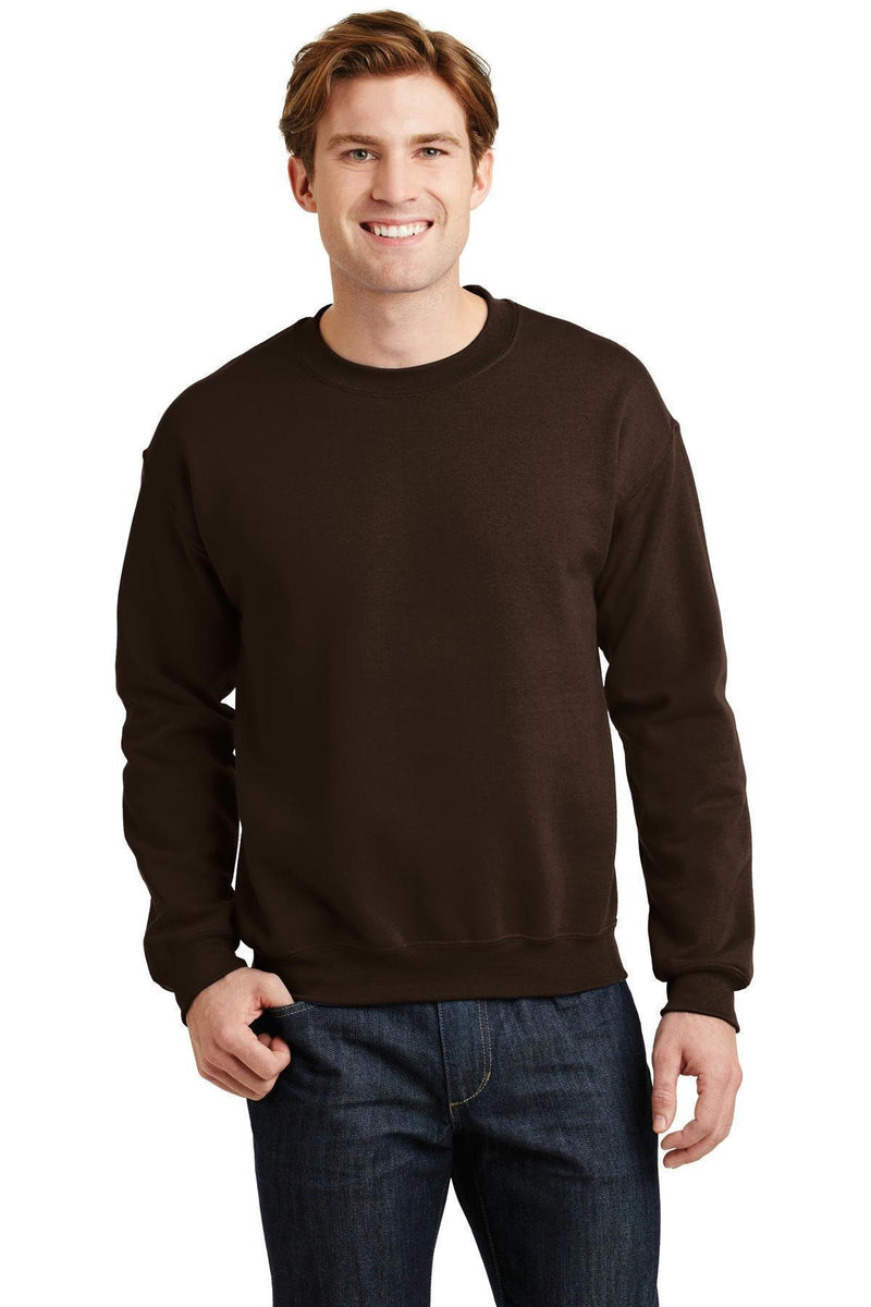 Gildan - Heavy Blend Crewneck Sweatshirt. 18000-Sweatshirts/fleece-Dark Chocolate-XL-JadeMoghul Inc.