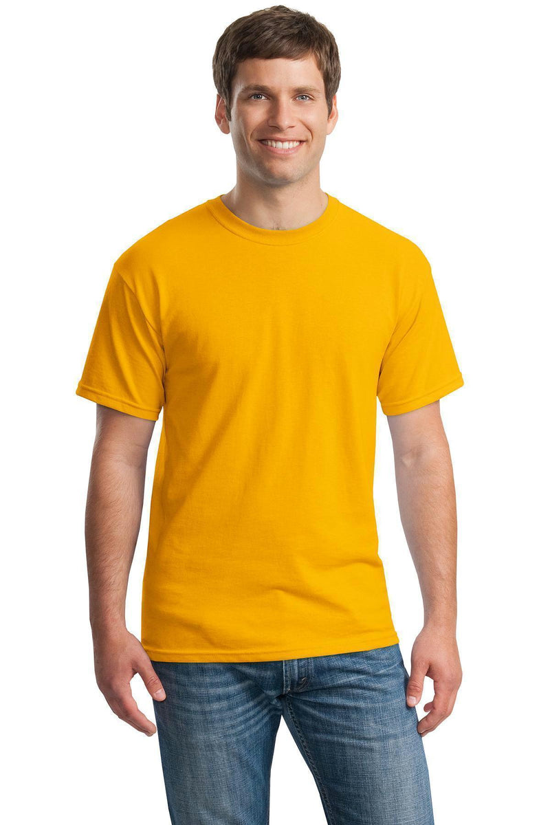 Gildan - Heavy Cotton 100% Cotton T-Shirt. 5000-T-shirts-Gold-S-JadeMoghul Inc.