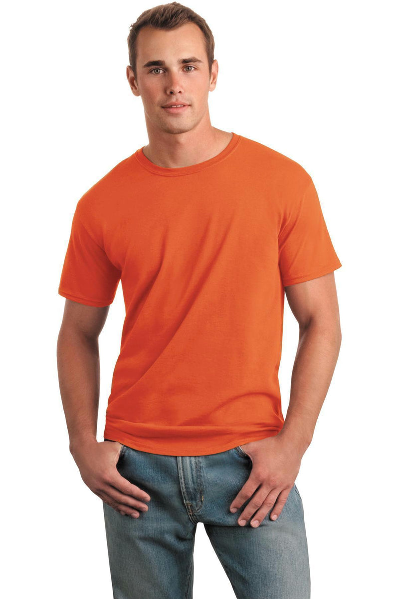 Gildan Softstyle T-Shirt. 64000-Juniors & Young Men-Orange-M-JadeMoghul Inc.