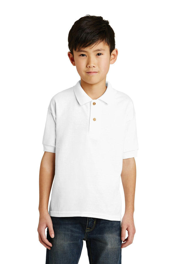Gildan Youth Dry lend 6-Ounce Jersey Knit Sport Shirt. 8800B-Youth-White-XL-JadeMoghul Inc.