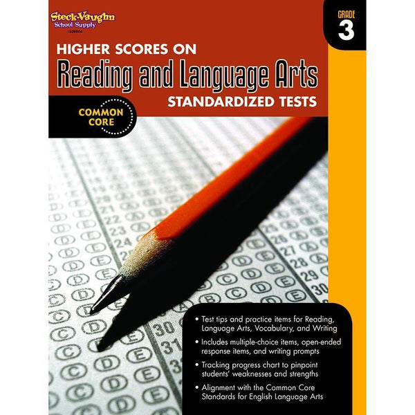 GR 3 HIGHER SCORES ON READING AND-Learning Materials-JadeMoghul Inc.