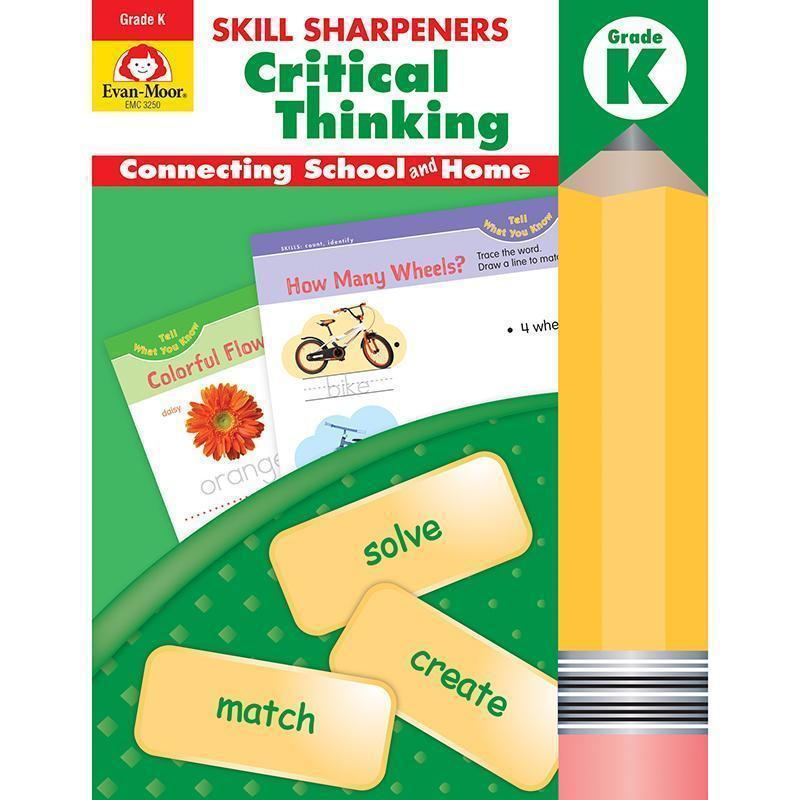 GR K SKILL SHARPENERS CRITICAL-Learning Materials-JadeMoghul Inc.