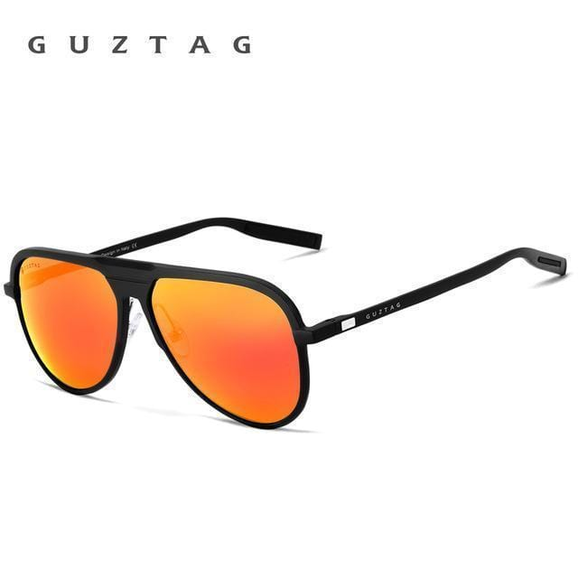 GUZTAG Unisex Classic Brand Men Aluminum Sunglasses HD Polarized UV400 Mirror Male Sun Glasses Women For Men Oculos de sol G9828-Red-JadeMoghul Inc.