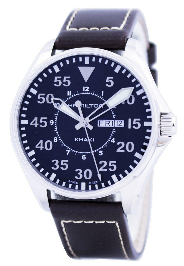 Hamilton Khaki Aviation Pilot H64611535 Men's Watch-Branded Watches-JadeMoghul Inc.