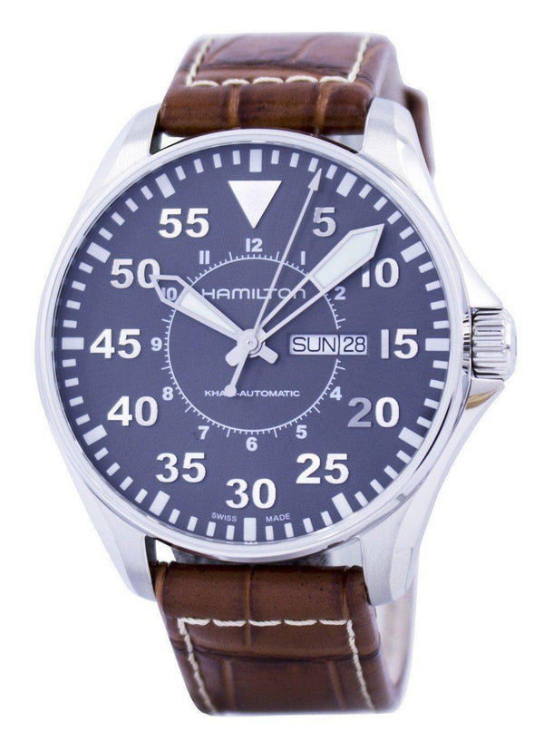 Hamilton Khaki Pilot Automatic H64715885 Men's Watch-Branded Watches-JadeMoghul Inc.