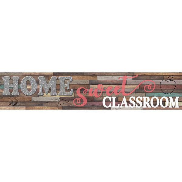 HOME SWEET CLASSROOM BANNER-Learning Materials-JadeMoghul Inc.