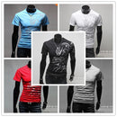 Hot New 2015 Fashion Brand T Shirts for Men.Novelty Dragon Printing Tatoo Male O Neck T Shirts Men 's Brands. TX70-T Shirt-An-E-Random Color-XXL-JadeMoghul Inc.