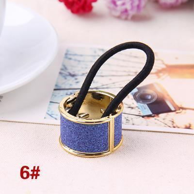 Hot Sales Fashion Plastic Print Hair Rope Elestic Rubber Hair Bands Headbands For Women Tie Ponytail Hair Accessories For Girls-14-JadeMoghul Inc.