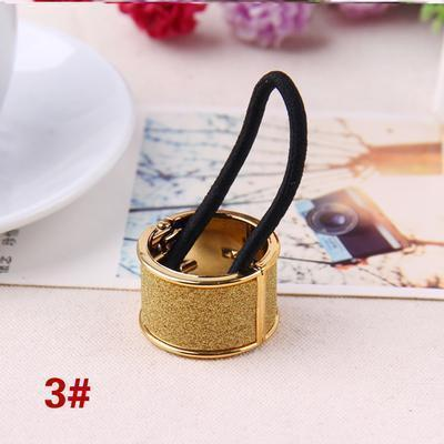 Hot Sales Fashion Plastic Print Hair Rope Elestic Rubber Hair Bands Headbands For Women Tie Ponytail Hair Accessories For Girls-18-JadeMoghul Inc.