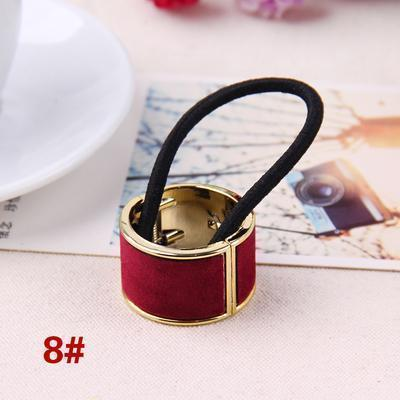 Hot Sales Fashion Plastic Print Hair Rope Elestic Rubber Hair Bands Headbands For Women Tie Ponytail Hair Accessories For Girls-7-JadeMoghul Inc.
