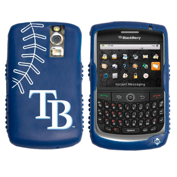 iFanatic MLB Tampa Bay Rays Cashmere Silicone Blackberry Curve Case-ELECTRONIC MEDIA-JadeMoghul Inc.