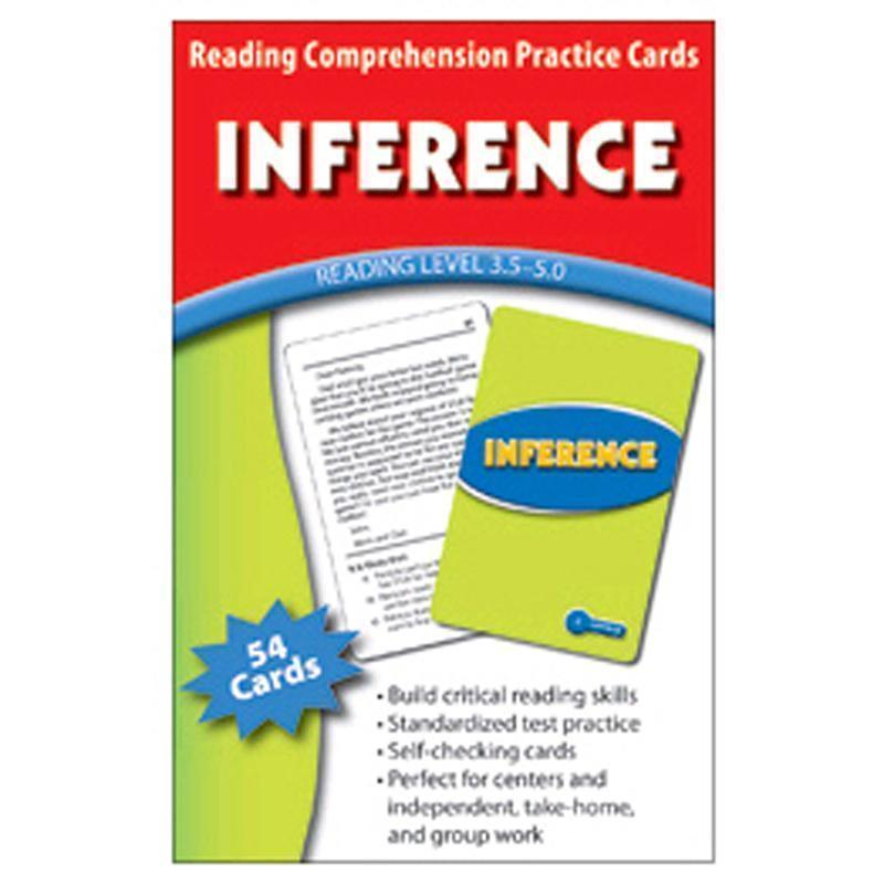 INFERENCE PRACTICE CARDS READING-Learning Materials-JadeMoghul Inc.