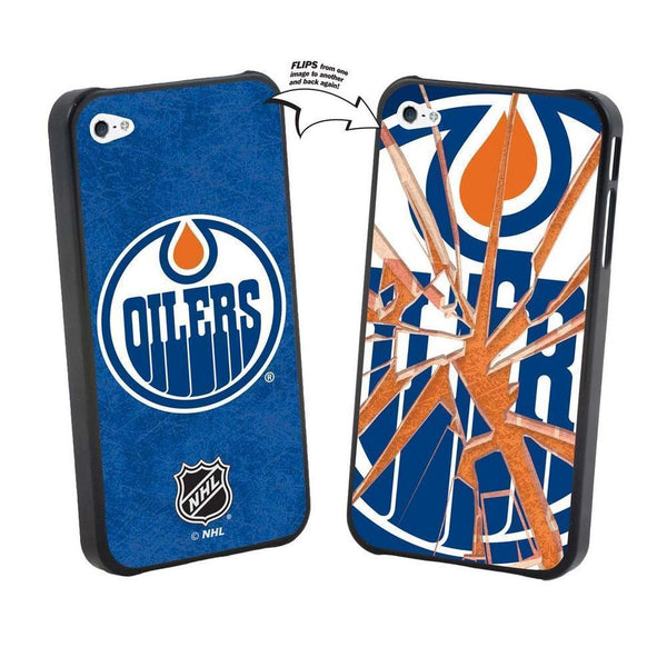 Iphone 5 NHL Edmonton Oilers Broken Glass Lenticular Case-All Other Sports-JadeMoghul Inc.