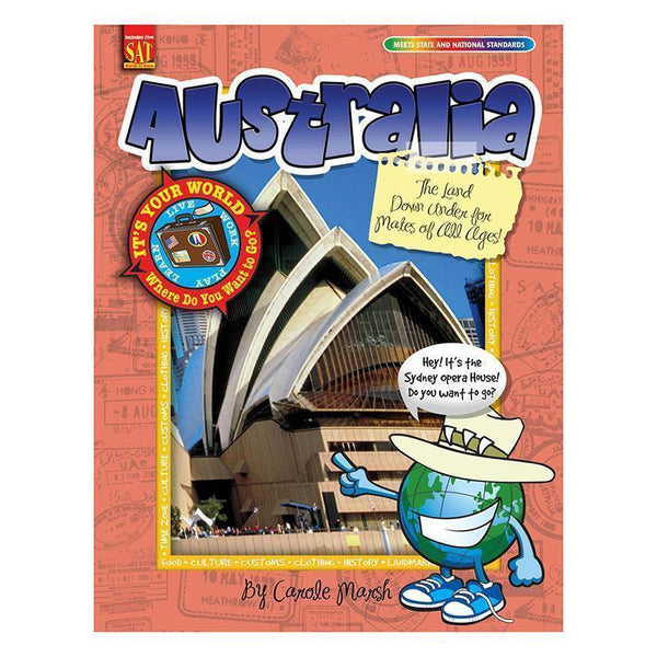 ITS YOUR WORLD AUSTRALIA-Learning Materials-JadeMoghul Inc.