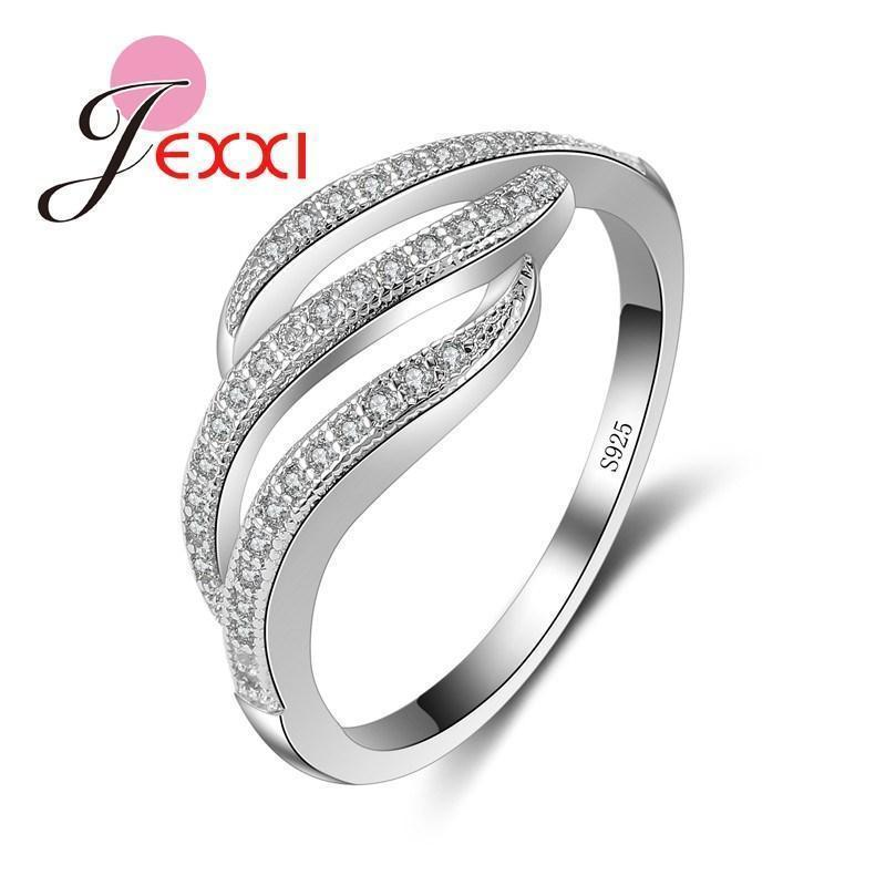 Jemmin Unique Solid 925 Sterling Silver Rings For Men Wholesale CZ Wedding Engagement Finger Ring Jewelry Accessory-7-JadeMoghul Inc.