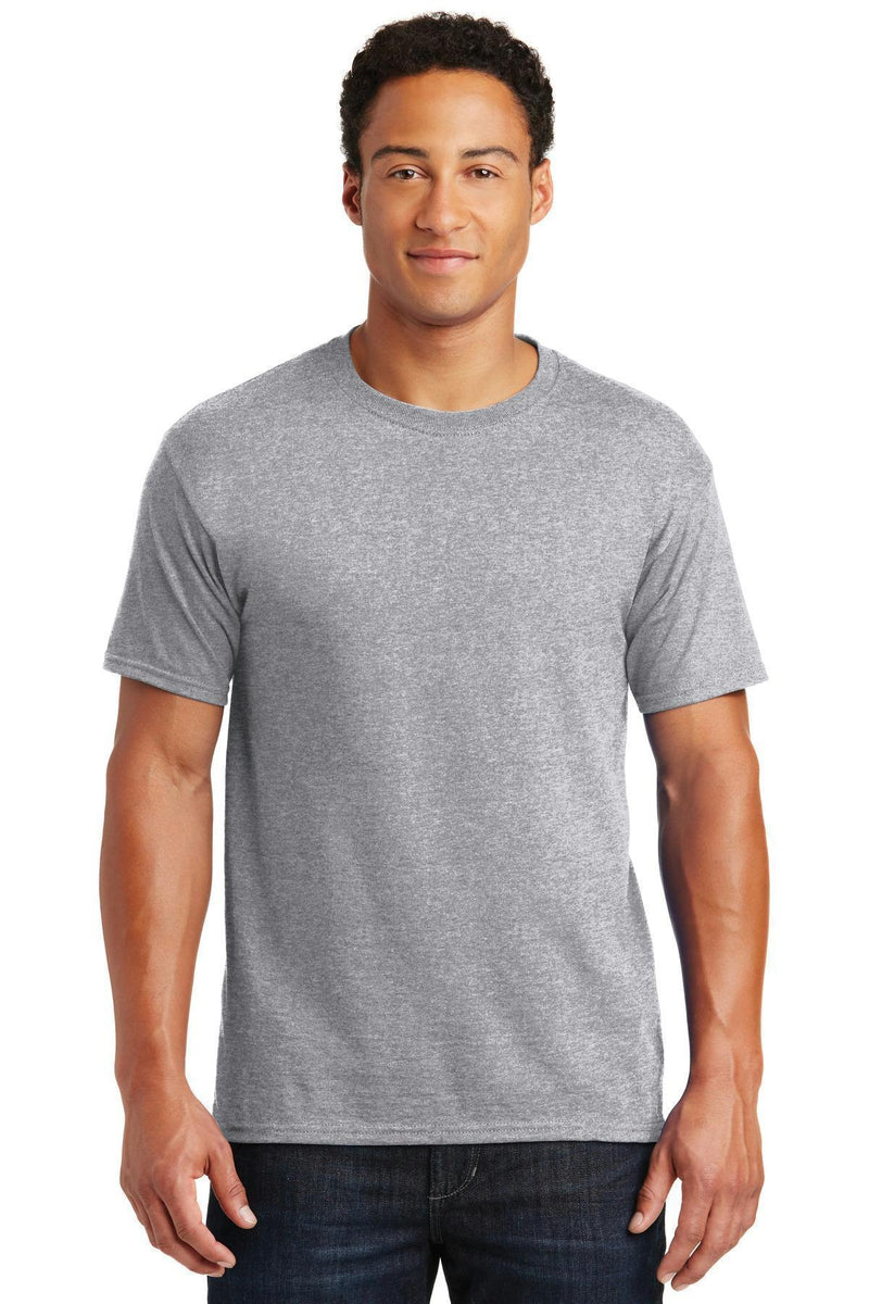 JERZEES - Dri-Power Active 50/50 Cotton/Poly T-Shirt. 29M-T-shirts-Athletic Heather-3XL-JadeMoghul Inc.