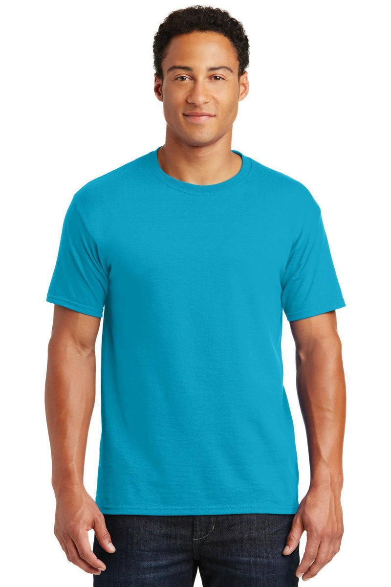 JERZEES - Dri-Power Active 50/50 Cotton/Poly T-Shirt. 29M-T-shirts-California Blue-S-JadeMoghul Inc.