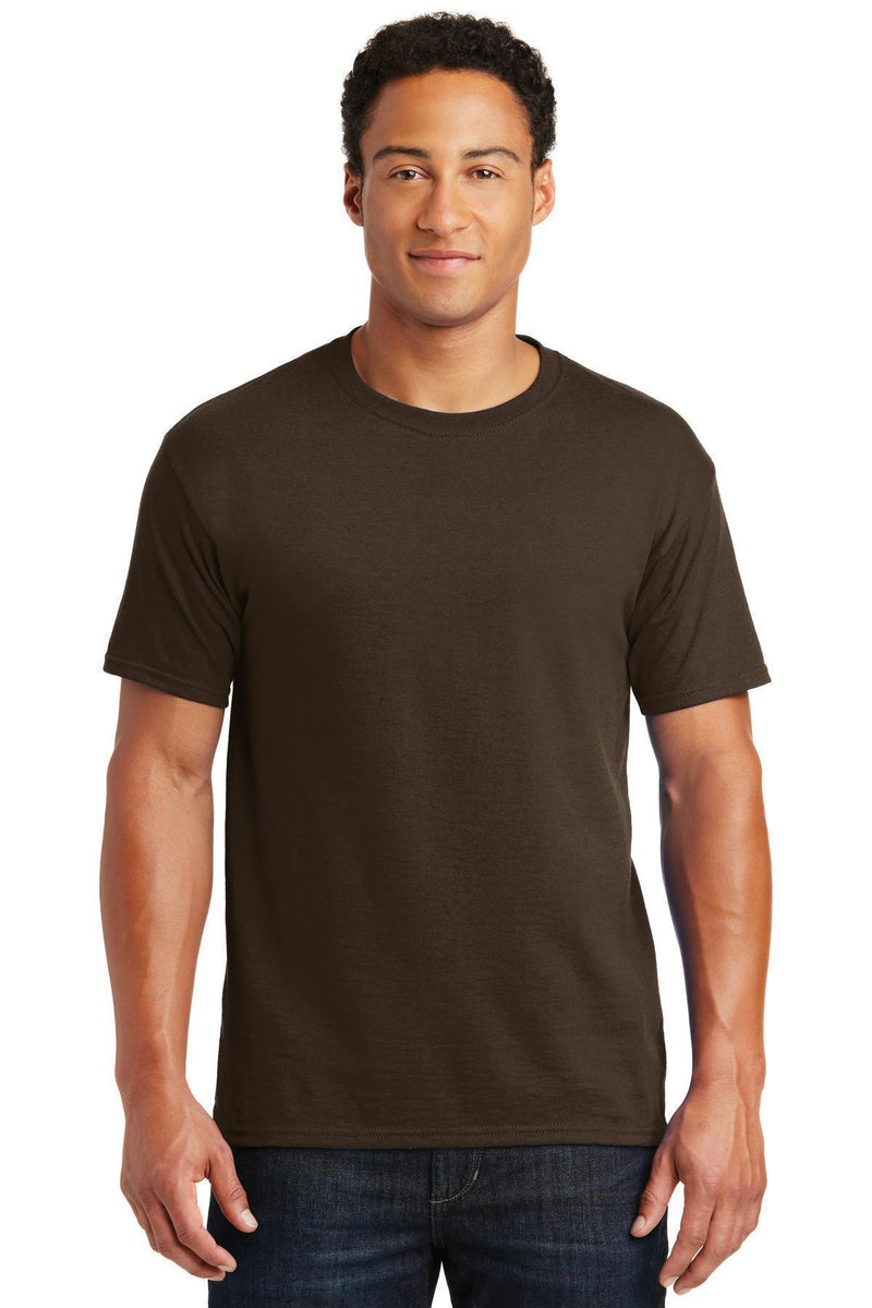 JERZEES - Dri-Power Active 50/50 Cotton/Poly T-Shirt. 29M-T-shirts-Chocolate-S-JadeMoghul Inc.