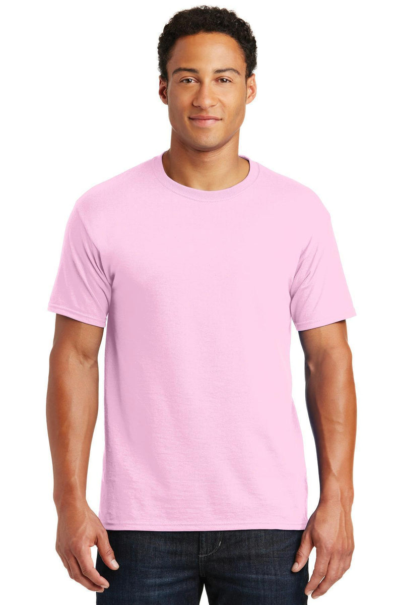 JERZEES - Dri-Power Active 50/50 Cotton/Poly T-Shirt. 29M-T-shirts-Classic Pink-2XL-JadeMoghul Inc.
