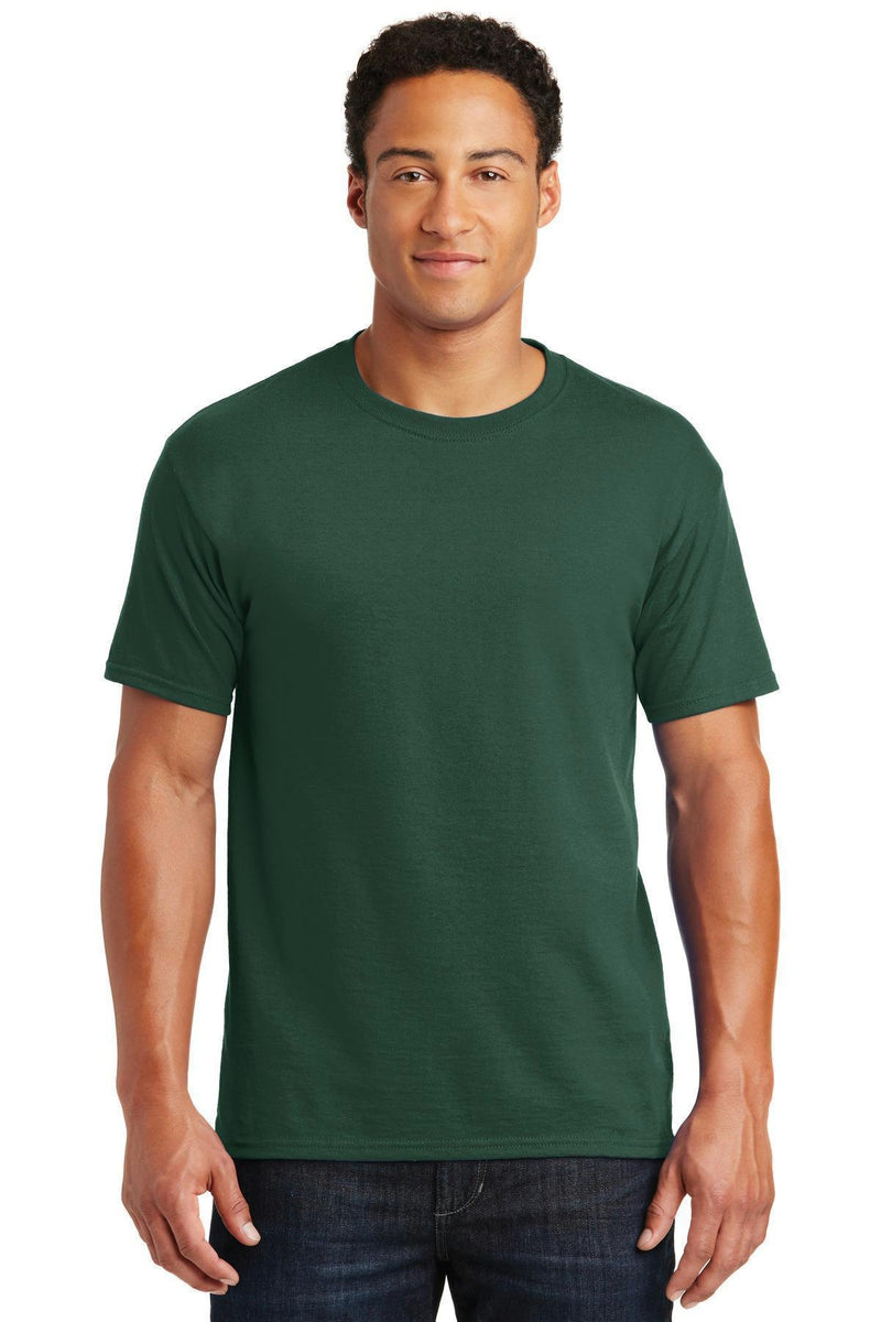 JERZEES - Dri-Power Active 50/50 Cotton/Poly T-Shirt. 29M-T-shirts-Forest Green-M-JadeMoghul Inc.