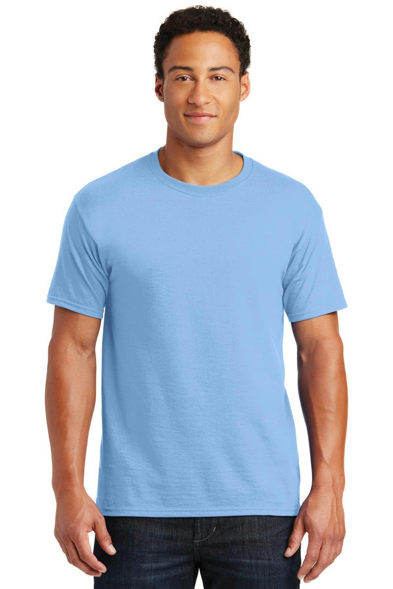 JERZEES - Dri-Power Active 50/50 Cotton/Poly T-Shirt. 29M-T-shirts-Light Blue-L-JadeMoghul Inc.