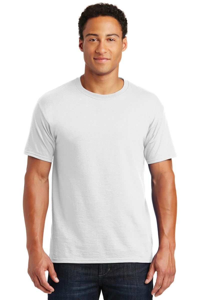 JERZEES - Dri-Power Active 50/50 Cotton/Poly T-Shirt. 29M-T-shirts-White-3XL-JadeMoghul Inc.