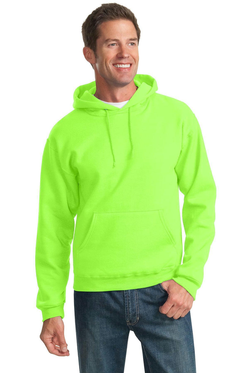 JERZEES - NuBlend Pullover Hooded Sweatshirt. 996M-Sweatshirts/fleece-Neon Green-2XL-JadeMoghul Inc.