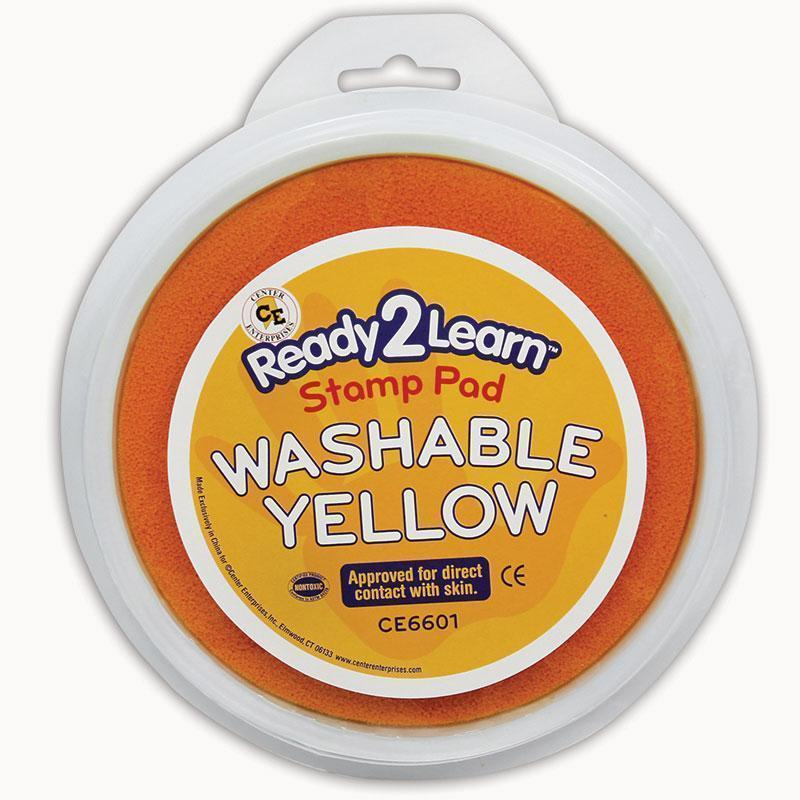 JUMBO CIRCULAR WASHABLE YELLOW PAD-Supplies-JadeMoghul Inc.