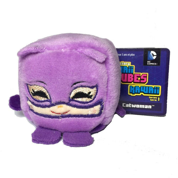 Kawaii Cubes DC Comics Catwoman Plush-Toy-JadeMoghul Inc.