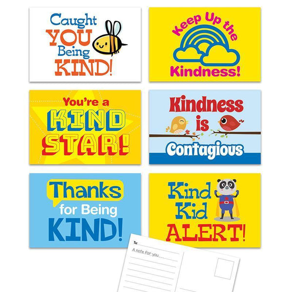 KINDNESS POSTCARDS-Learning Materials-JadeMoghul Inc.