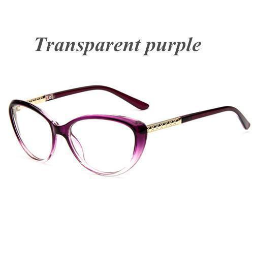 KOTTDO Women Retro Cat Eye Eyeglasses Brand Spectacles Glasses Optical Spectacle Frame Vintage Computer Reading Glasses oculos-purple-JadeMoghul Inc.