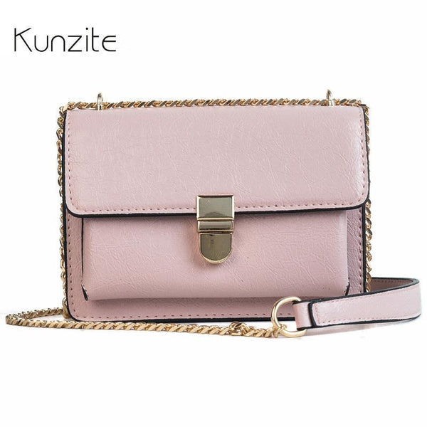 Kunzite Brand New 2018 Women Handbags Sac A Main Crossbody Bags Designer Handbags High Quality PU Leather Flap Bolsos Mujer Hot-Black-JadeMoghul Inc.