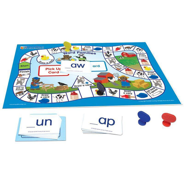 LANGUAGE READINESS GAME WD FAMILIES-Learning Materials-JadeMoghul Inc.