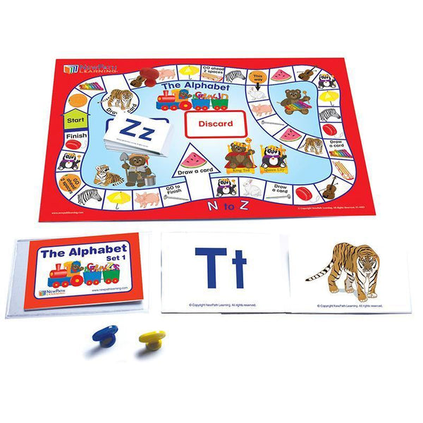 LANGUAGE READINESS GAMES ALPHABET-Learning Materials-JadeMoghul Inc.