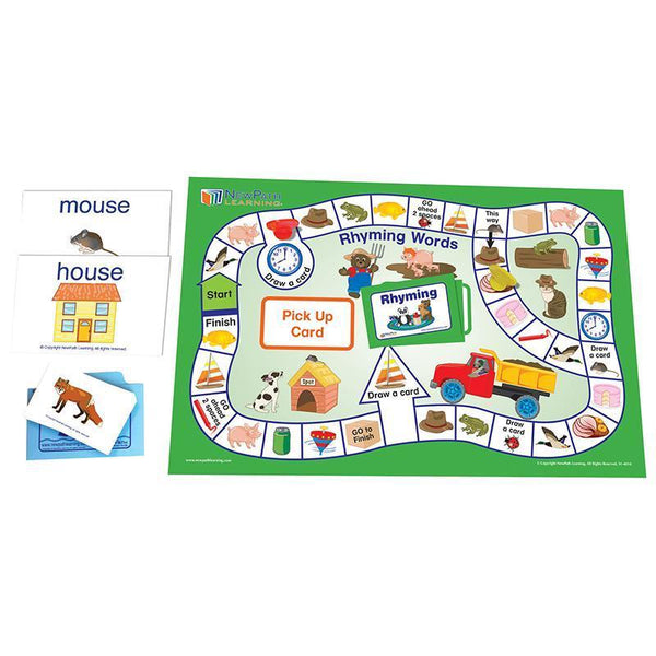 LANGUAGE READINESS GAMES RHYME WORD-Learning Materials-JadeMoghul Inc.