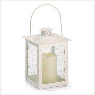 LARGE WHITE LANTERN-Seasonal Merchandise/Gifts-JadeMoghul Inc.
