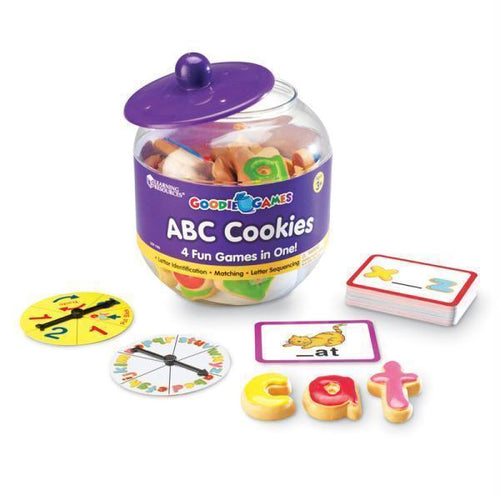 Learning Materials GOODIE GAMES ABC COOKIES Default Title JadeMoghul