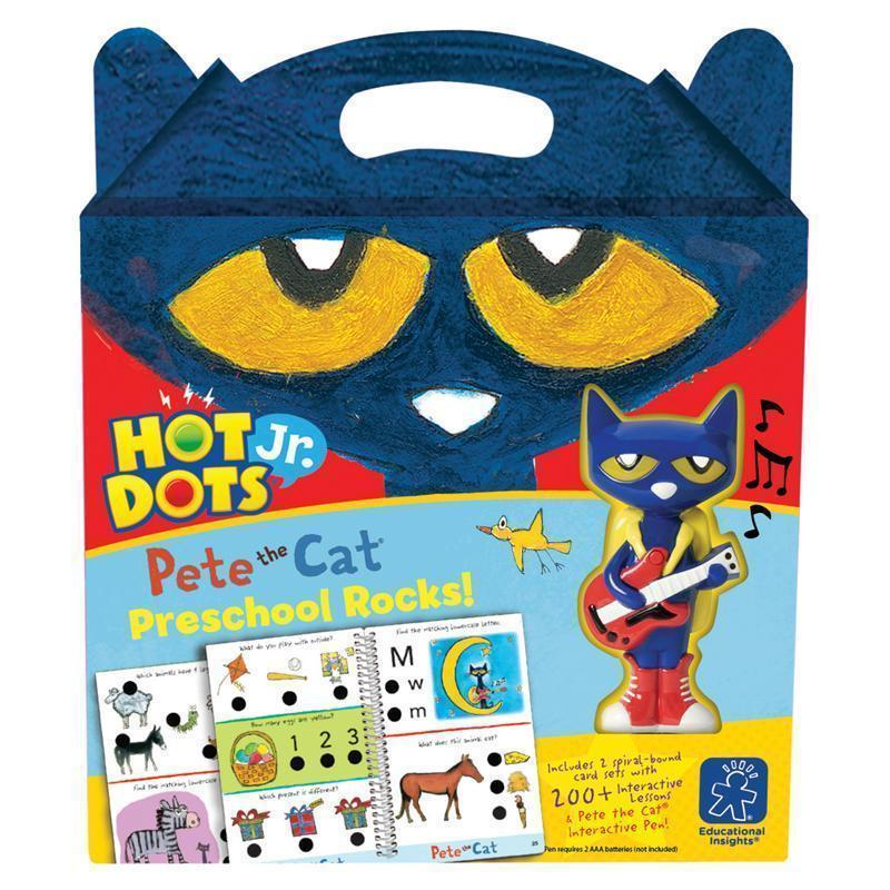 Hot Dots Jr Pete The Cat Preschool