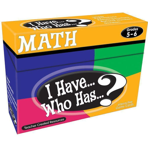 Learning Materials I HAVE WHO HAS MATH GR 5-6 Default Title JadeMoghul