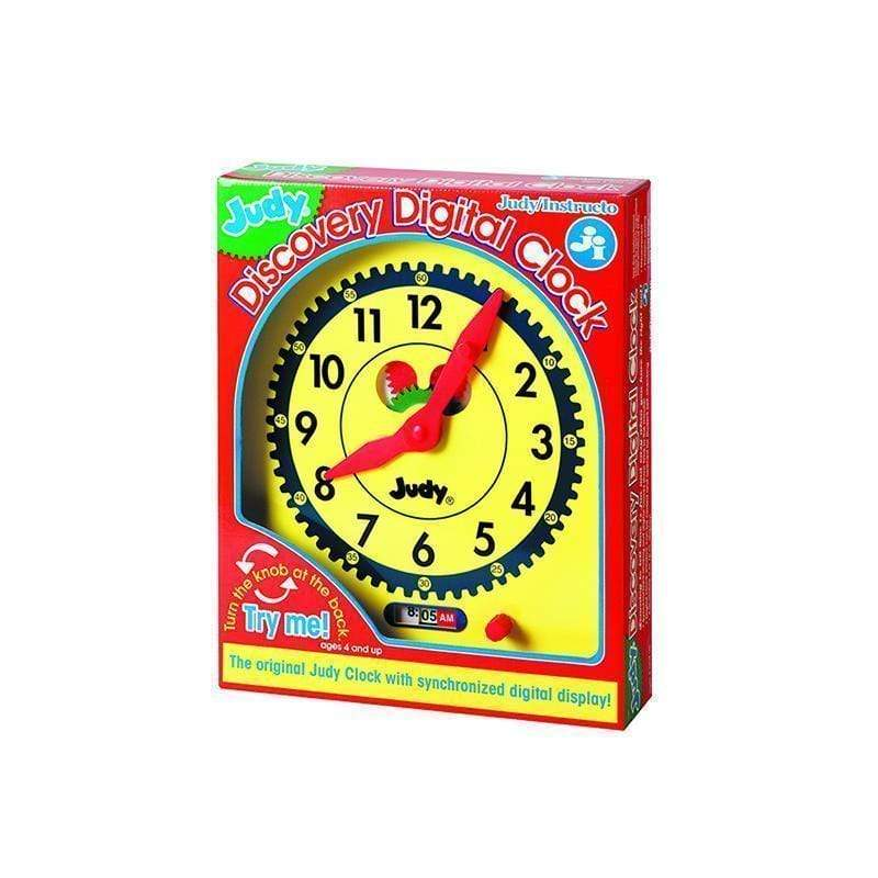 Learning Materials Judy Discovery Digital Clock CARSON DELLOSA