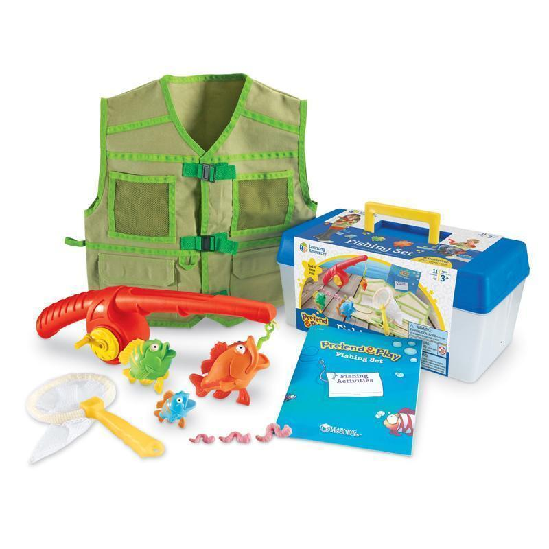 Learning Materials Pretend & Play Fishing Set LEARNING RESOURCES