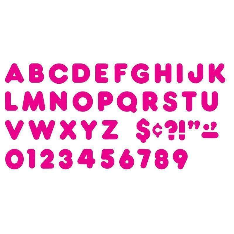 Learning Materials Ready Letters 2 In Casual Deep Pink TREND ENTERPRISES INC.