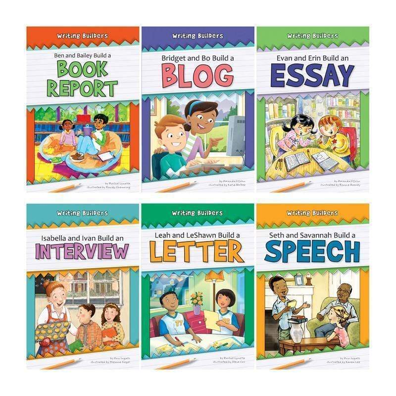 Learning Materials Set 1 Writing Builders 6 Book Set NORWOOD HOUSE PRESS