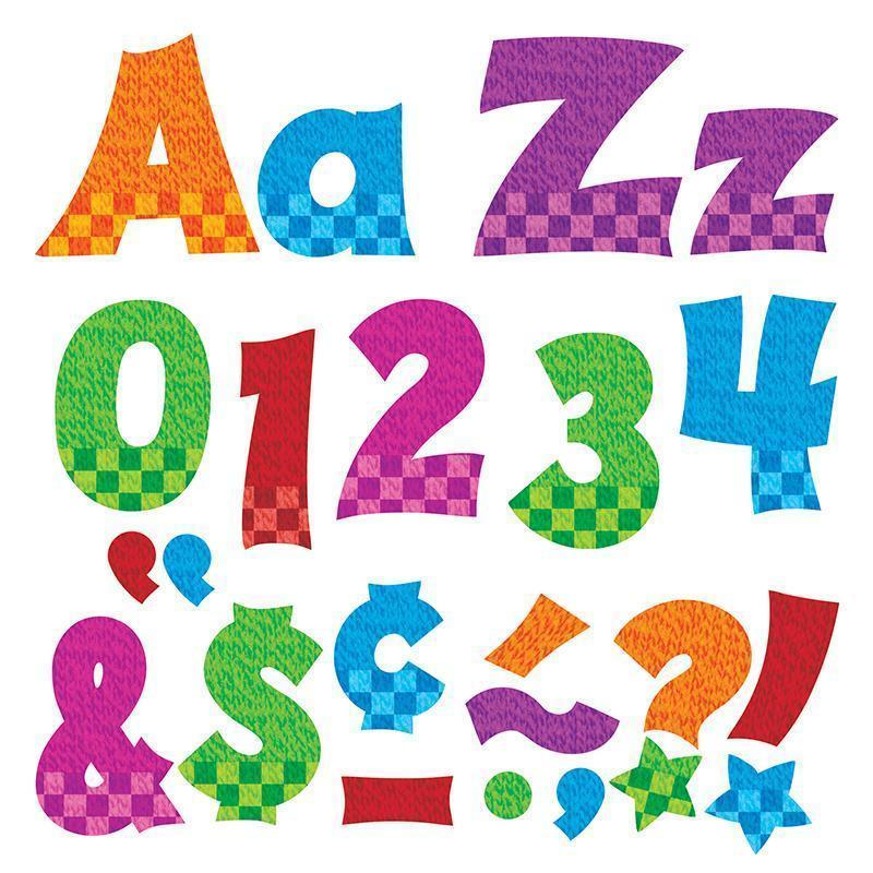 Learning Materials Snazzy 4 In Combo Pack Uppercase TREND ENTERPRISES INC.