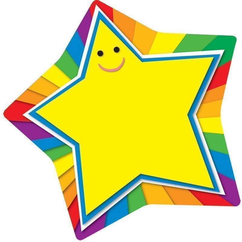 Learning Materials Star Two Sided Decoration CARSON DELLOSA