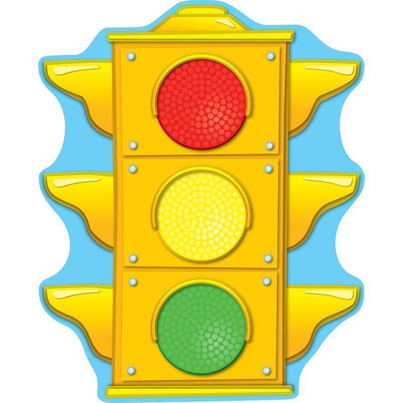 Learning Materials Stoplight Two Sided Decoration CARSON DELLOSA