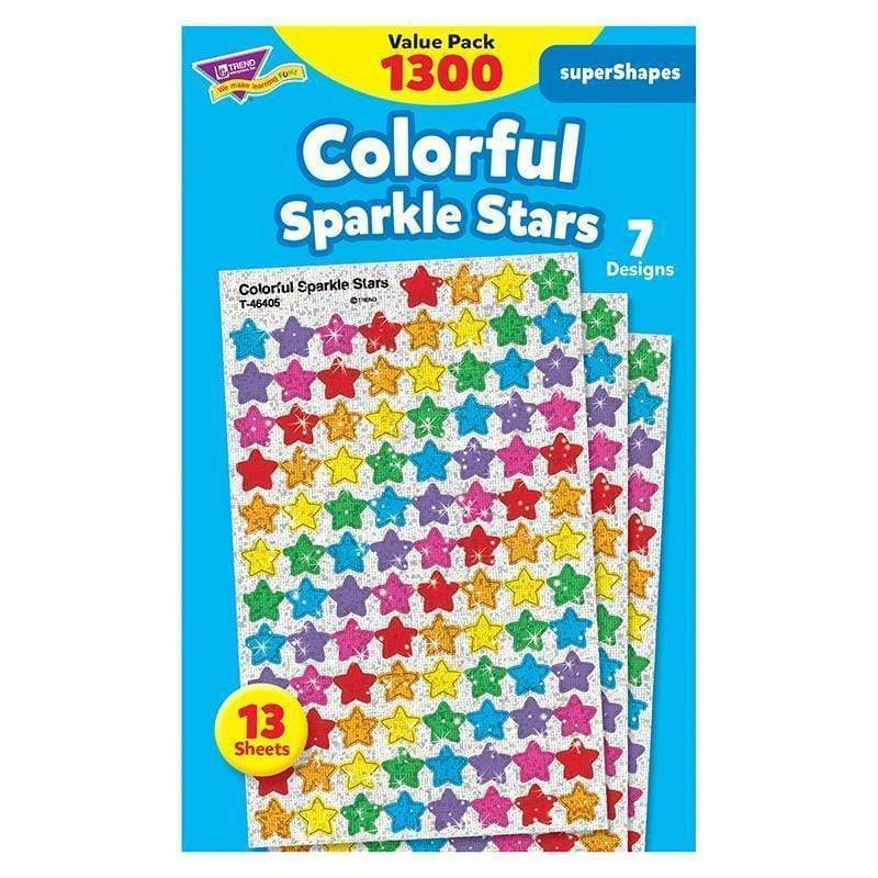 Learning Materials Supershapes Variety 1300 Pk Colorful TREND ENTERPRISES INC.